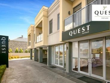 Portland: One-, Two, or Three-Night Getaway for Two or Four People with Breakfast at Quest Portland Serviced Apartments