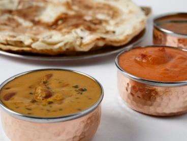 Indian-Style Breakfast or Brunch with and Drink for 1 ($10), 2 ($19) or 4 People ($37) at Copper Handi (Up to $48 Value)