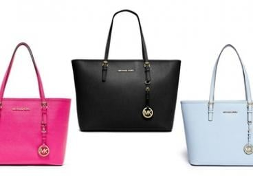 $299 for a Michael Kors Jet Set Travel Saffiano Leather Tote Bag