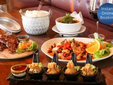 3-Course Thai Dinner + Wine for 2 ($39), 4 ($78), or 6 People ($117) at 89 Thai Restaurant (Up to $244.20 Value)