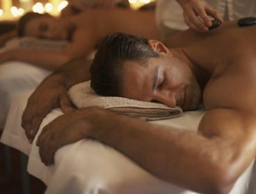 Hot Stone Massage for Two: One ($79) or Two Visits ($150) at H Beauty (Up to $740 Value)