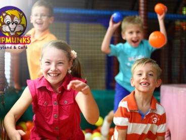 $6 for Entry for One Child to Chipmunks Playland and Café Everton Park (Up to $13.90 Value)