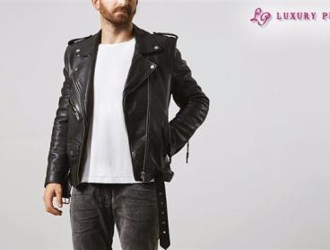 High Quality Genuine Leather Jacket