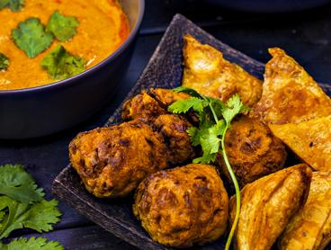 All-You-Can-Eat Indian Buffet with Dessert and a Glass of House Wine or Soft Drink Each: Just $40 for Two People, $75 for Four People or $110 for Six People (Valued Up To $263.40)