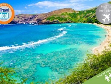 Honolulu: $1199 Per Person for a Five-Night Hawaii Break with Flights at the Ramada Plaza Waikiki