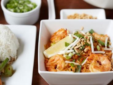 Seven-Dish Lunch or Dinner Thai Banquet for Two ($35) or Four ($65) at Khao Thai Restaurant (Up to $141.80 Value)