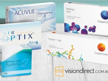 $40 to Spend on all Contact Lenses at Vision Direct