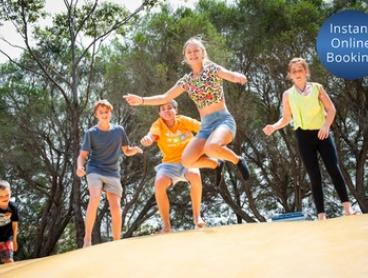Great Ocean Road: Family Getaway for Two Adults and Two Children with Bottle of Wine at Torquay Holiday Park