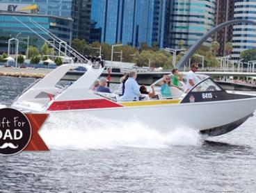 25-Minute Swan River Cruise for One ($22) Two ($42) or Four People ($82) at Wild West Charters (Up to $120 Value)