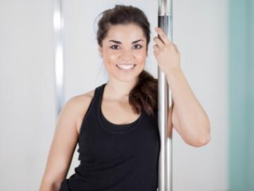 Beginner Pole Course, Choice of 2 Locations: 4 ($39) or 8 ($75)  at SuperPowered Pole (Up to $220Value)