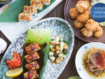 Vegetarian or Standard Banquet with Sake for 2 (From $59) or 4 People (From $115) at Kinyoubi Izakaya (Up to $294 Value)