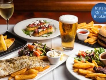 Two-Course Meal with Drinks for Two ($29) or Four People ($57) at Melbas on the Park
