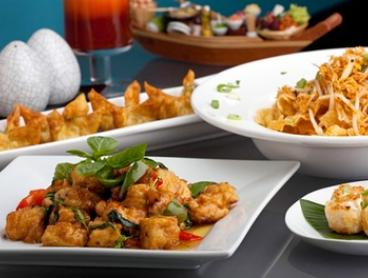 Thai Banquet with Drinks for Two ($35), Four ($69) or Six ($99) People at Pan Pan Thai Cuisine (Up to $216 Value)