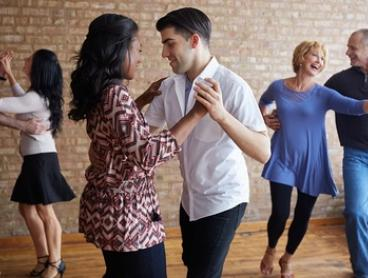 Bachata Dance Classes: Three ($9) or Five Classes ($12) at La Fiesta Dance Factory Studio (Up to $100 Value)