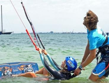 Two-Hour Kiteboarding Lesson for One ($69) or Two People ($119) with The Zu Boardsports, St Kilda (Up to $238 Value)