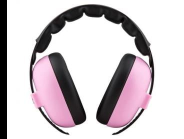 Baby Banz Protective Earmuffs 3 Months - Baby Pink
