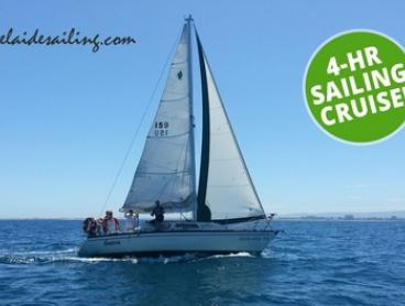 Four-Hour Sailing Cruise for Two ($109), Four ($217) or Six ($324) with Adelaide Sailing (Up to $540 Value)