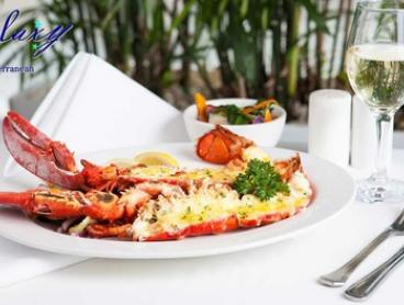 3-Course Lobster Dining for 1 ($35) 2 ($56) or 4 People ($125) at Galaxy Seafood Restaurant (Up to $350.80 Value)