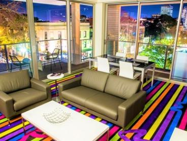 Sydney, Surry Hills: 1-Night Apartment Stay for 4 People with Breakfast and Late Check-Out at 4.5* Adge Apartment Hotel