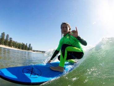 $25 for a 90-Minute Surfing Lesson at Central Coast Surf Academy (Up to $50 Value)