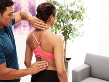 Chiropractic Visit for One ($19) or Two People ($35) at Bonfire Chiropractic, Two Locations