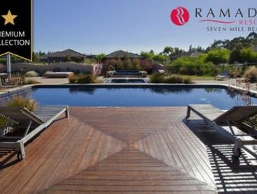 Tasmania: Up to Five-Night Getaway for Up to Six People with Wine and Late Check-Out at Ramada Resort Seven Mile Beach