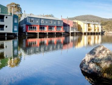 Snowy Mountains: 3 or 4 Nights for 2 or 4 People with Breakfast, Wine and Spa Discount at Lake Crackenback Resort & Spa