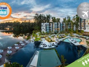 Phuket: From $849 Per Person Quad Share for a Seven-Night Getaway with Flights and Breakfast at 4* Cassia Phuket