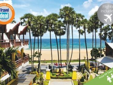 Phuket: From $649 Per Person for a 7-Night Stay with Breakfast, Dinner and Flights at 4* Woraburi Phuket Resort & Spa