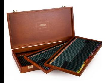 Derwent Artist Pencils 120-Piece Wooden Box Set
