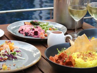 Indulgent Lunch with Drinks at the Poolside Restaurant in DoubleTree by Hilton Darwin - $29 for Two People or $57 for Four People (Valued Up To $112)