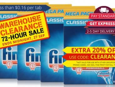 $69 for 440 Tablets of Finish® Classic Powerball®