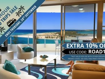 Sunshine Coast, Queensland, Caloundra: Three-Night Apartment Stay for 2 or 4 People w Late Check-Out at Monaco Caloundra