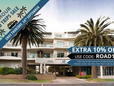 Phillip Island: 1 to 4 Nights for Up To Four in Beachside Executive Apartment with Late Check-Out at The Waves