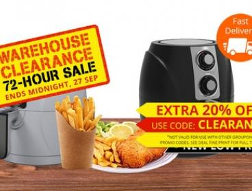 $69.95 for a Healthy Choice 3.0L Air Fryer (Don't Pay $229)