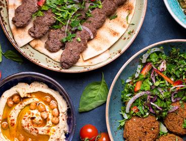 Three-Course Mediterranean Dinner with Wine in North Adelaide is $39 for Two People or $77 for Four People (Valued Up To $203.40)