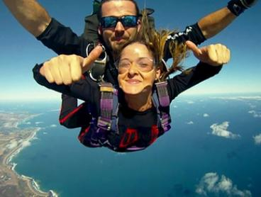 12,000 Feet Tandem Skydive on a Weekday ($249) or Weekend ($269) with Australian Sky Dive, Torquay