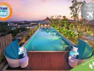 Bali, Kuta: From $499 Per Person for a Four-Night Getaway with Flights, Breakfast, and Massages at 4* Ramada Bali Sunset