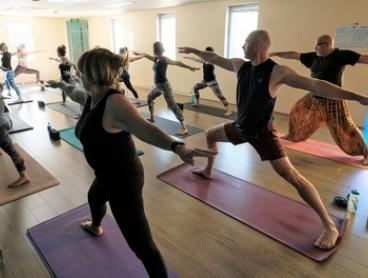 Yoga Classes: One ($29) or Two Months ($49) of Unlimited Classes at Urban Soul (Up to $239 Value)