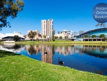 Adelaide: 1 or 2 Nights for Two with Breakfast, Late Check-Out and Bottle of Wine at Chifley Hotel on South Terrace