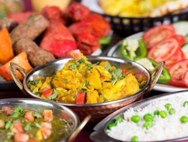 4-Course Indian Banquet + Wine for 2 ($45), 4 ($89) or 6 People ($129) at Mount Everest Restaurant (Up to $249 Value)