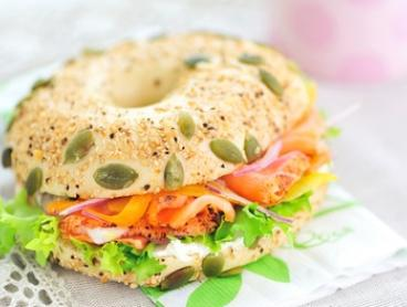 Bagel with Drink for One ($7.95 or Two ($15.90) at Flambagel (Up to $29.30 Value)