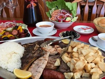 Portuguese Lunch or Dinner + Sangria or Wine for Two ($49) or Four ($98) at Costa Do Sol, Petersham (Up to $212 Value)
