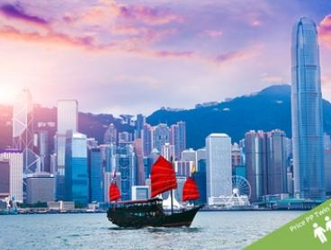 Hong Kong: From $338 Per Person for a Three-Night Stay at a Four or Five Star Hotel with a Choice of Tours