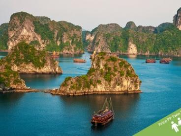 Vietnam: From $1,029 Per Person for 16-Day Tour with Cruise, Tran Ride, and Domestic Flights with Halong Tours Booking