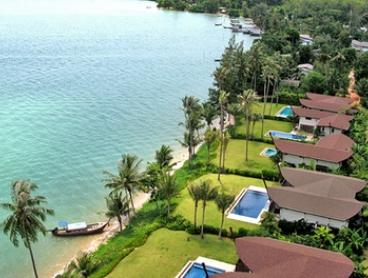 Thailand, Phuket: 3- to 10-Night Stay for Two People with Breakfast and Koh Rang Trip at The Village Coconut Island
