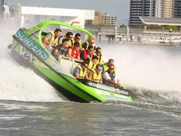 V8 Jet Boating Experience for a Child ($39) or Adult ($45) at Surfers Jet, Surfers Paradise (Up to $70 Value)