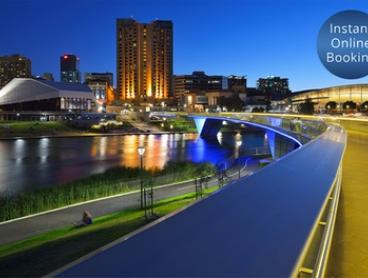 Adelaide: 1 or 2 Nights for Two People with Wine on Arrival and Breakfast at The O'Connell Inn