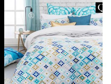 Bambury Mosaic Queen Bed Quilt Cover Set - Multi