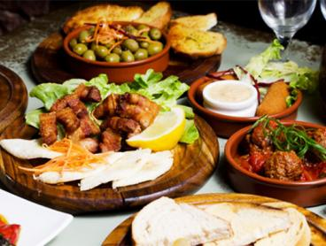 Spanish Feast on King Street with Sangria is Just $49 for Two People or $89 for Four People (Valued Up To $232)